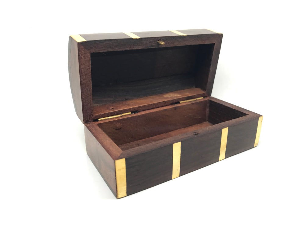 Image of Anchor Mini Wooden Chest