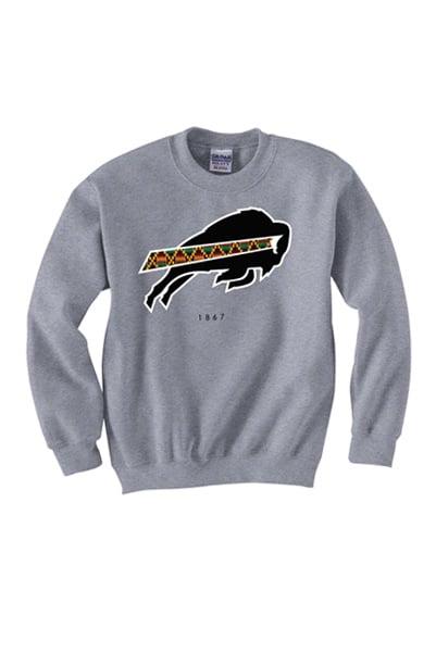 Image of 1867 Collection - Grey Crewneck Sweatshirt