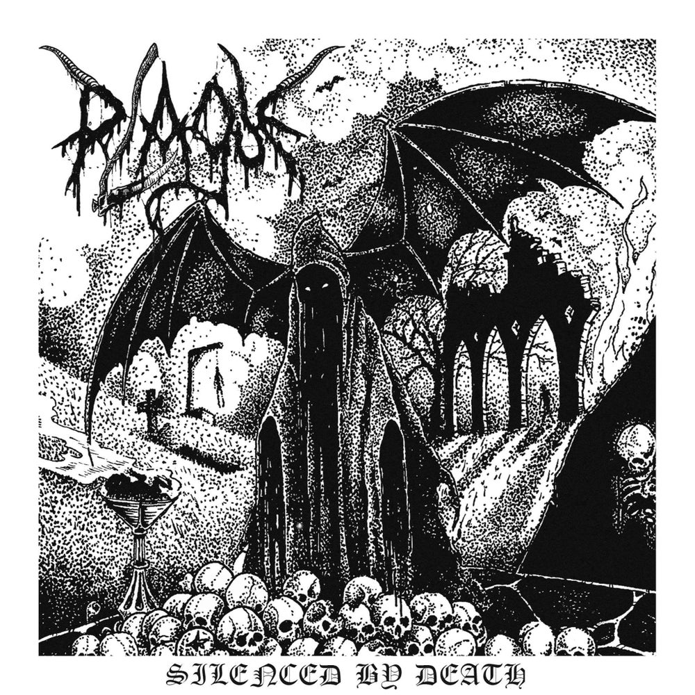 "Image of Plague ""Silenced by Death"" 7"" Single"