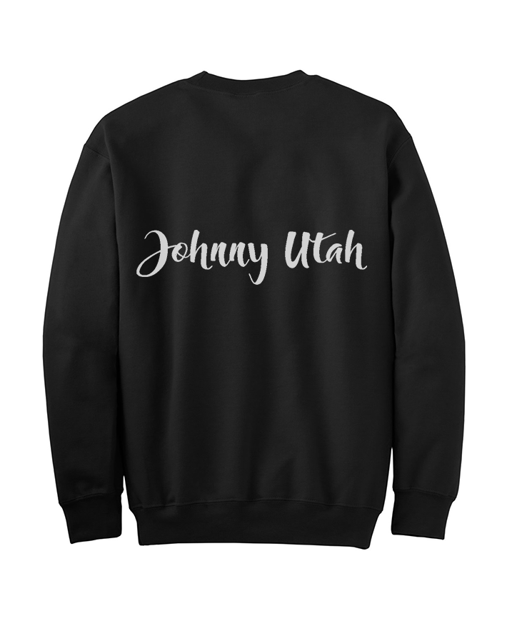 Image of JU-BLACK Crewneck