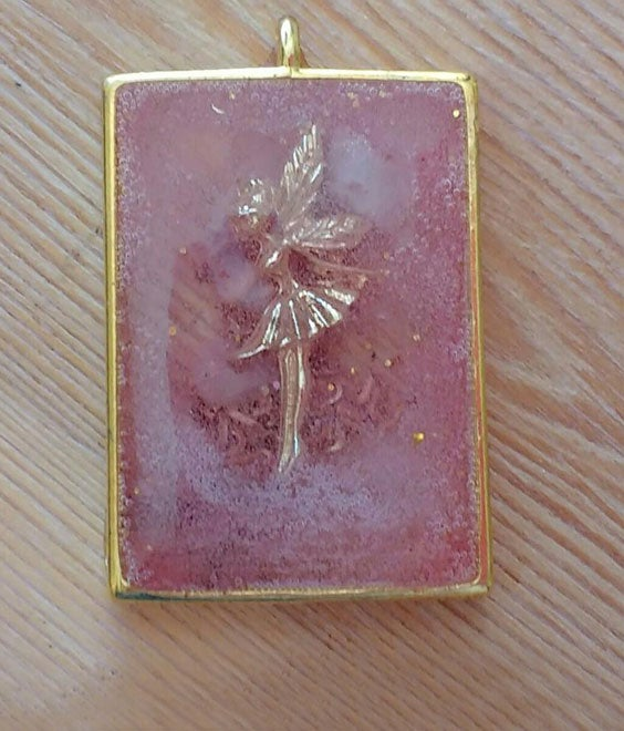 Image of RosePink Fairy Pendant