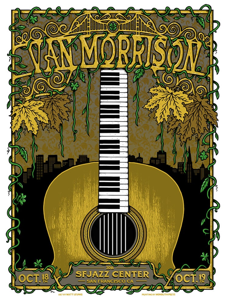 Image of VAN MORRISON @ San Francisco CA - 2016