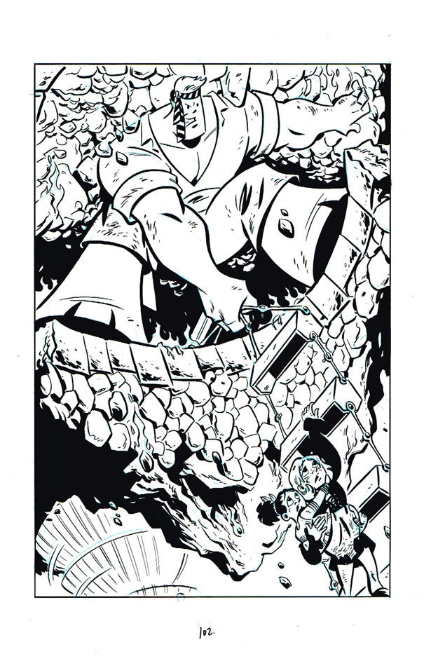 Image of The Dark Island page 102