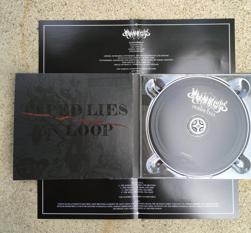 Image of Peripeteia Digipack CD