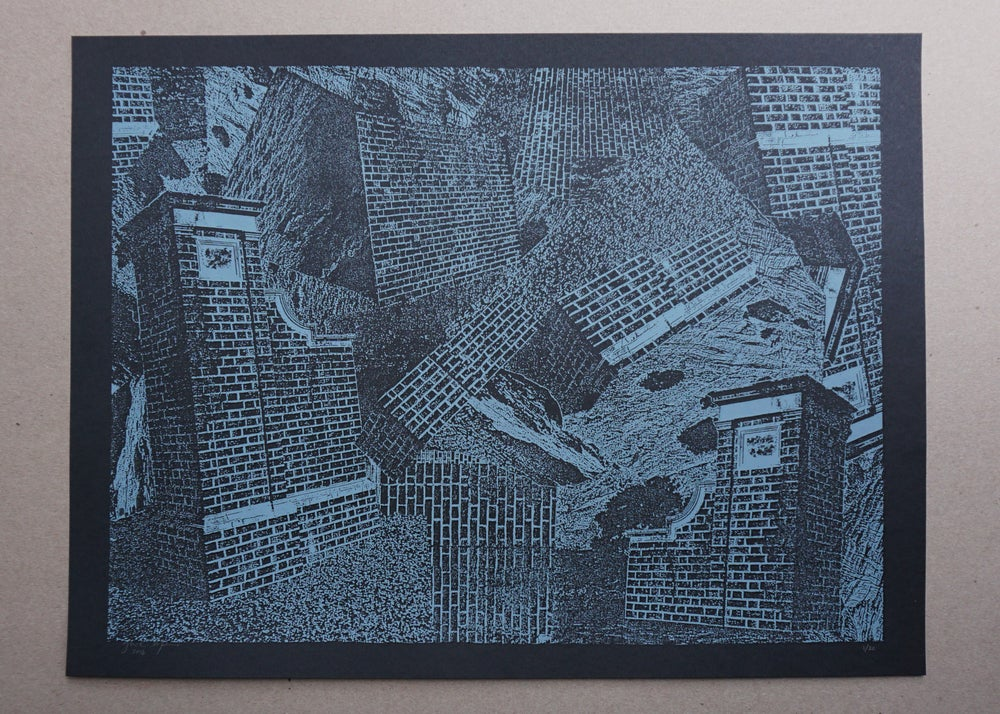 Image of 'access decontrol' print