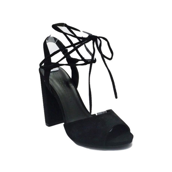 Image of Lace Up Black