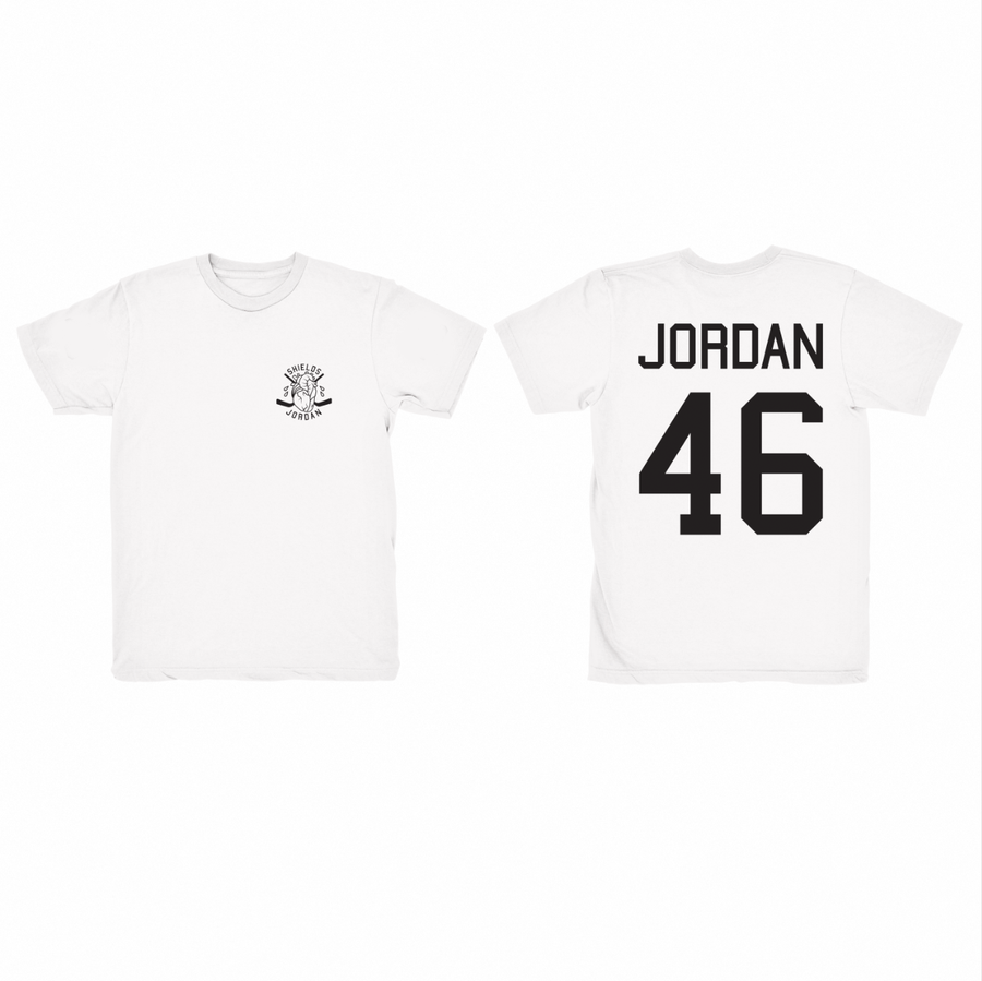 Image of JORDAN 46 WHITE • T-SHIRT