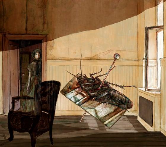 Image of The Metamorphosis | Buy Illustration Art Prints for Sale