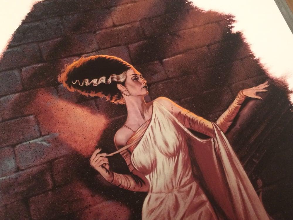 Image of Bride of Frankenstein Regular EDITION No. 0/25