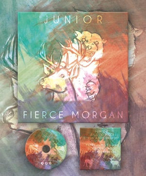 Image of Junior / Fierce Morgan Split EP