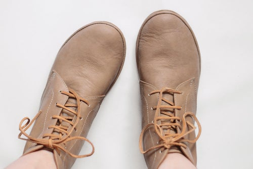 Image of Foris boots in Ecru
