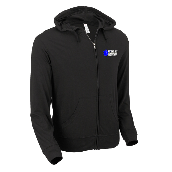 Image of STAY CALM Full-Zip Lightweight Hoodie