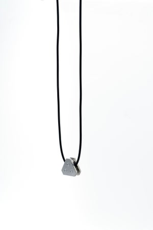 Image of DRILLING LAB - Anonymous Necklace (Silver)