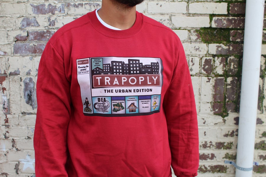 Image of Trapopoly Men's tee Crew neck and Hoodie