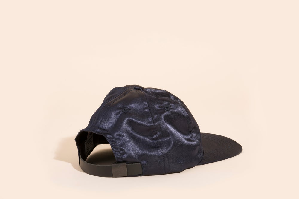 Image of Ball Cap - Navy Satin