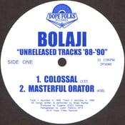 "Image of BOLAJI ""UNRELEASED TRACKS '88-'90"""
