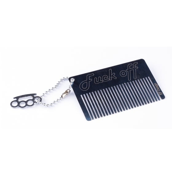 Image of Beard Comb - Fuck Off