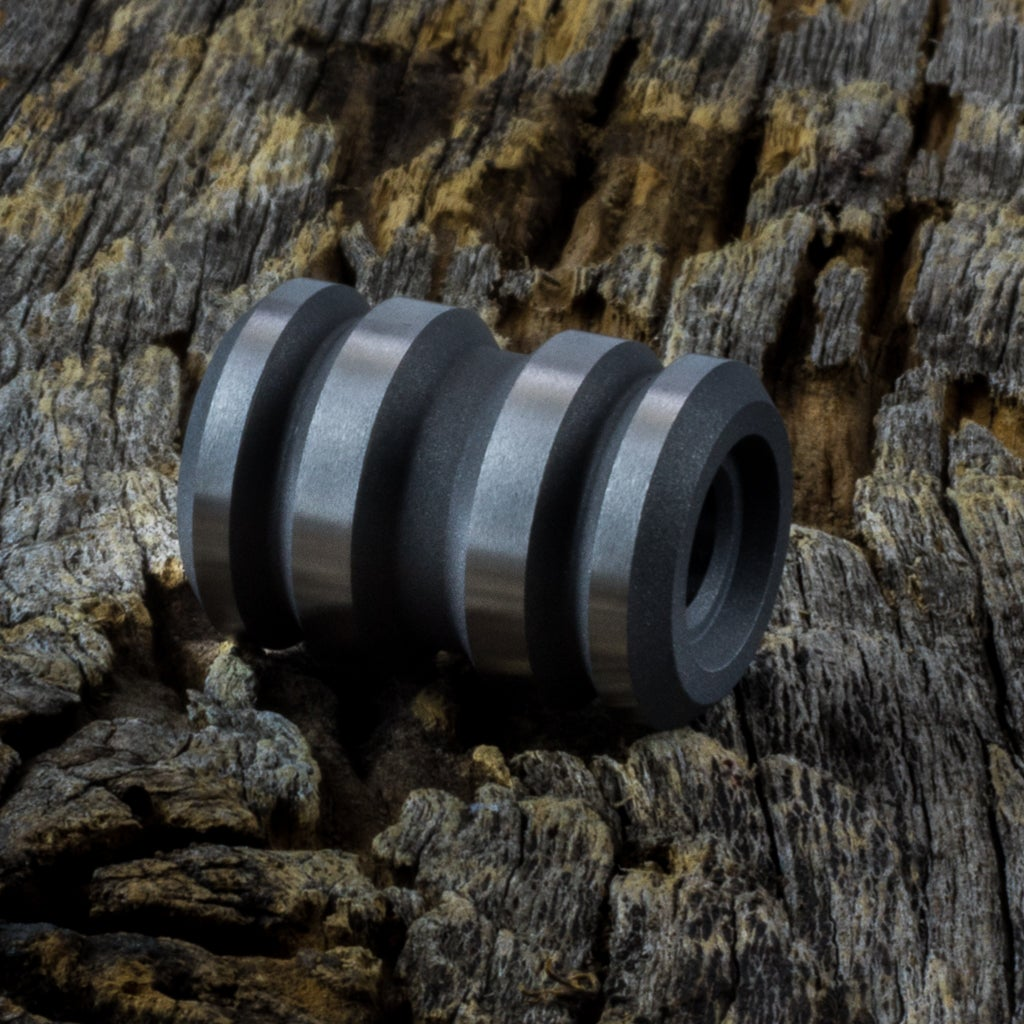 Image of Tank Blasted & Machined Ti Bead