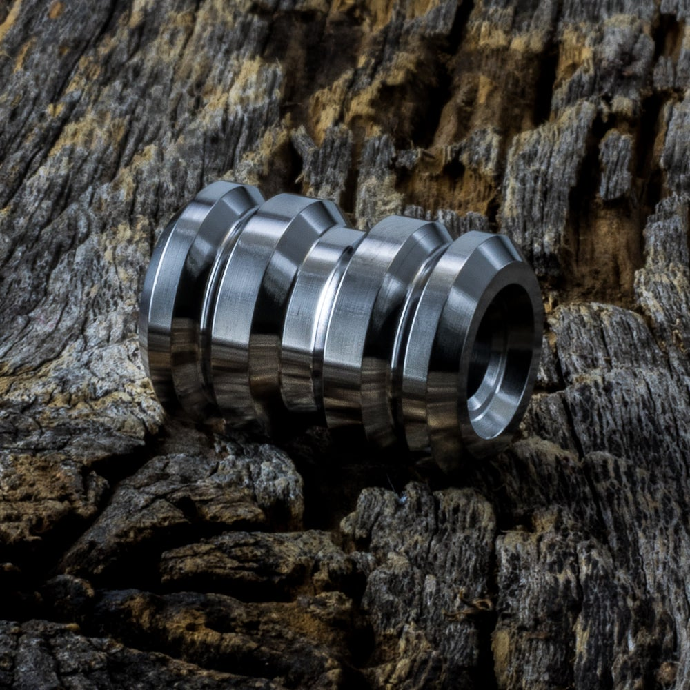 Image of Tank Polished Ti Bead