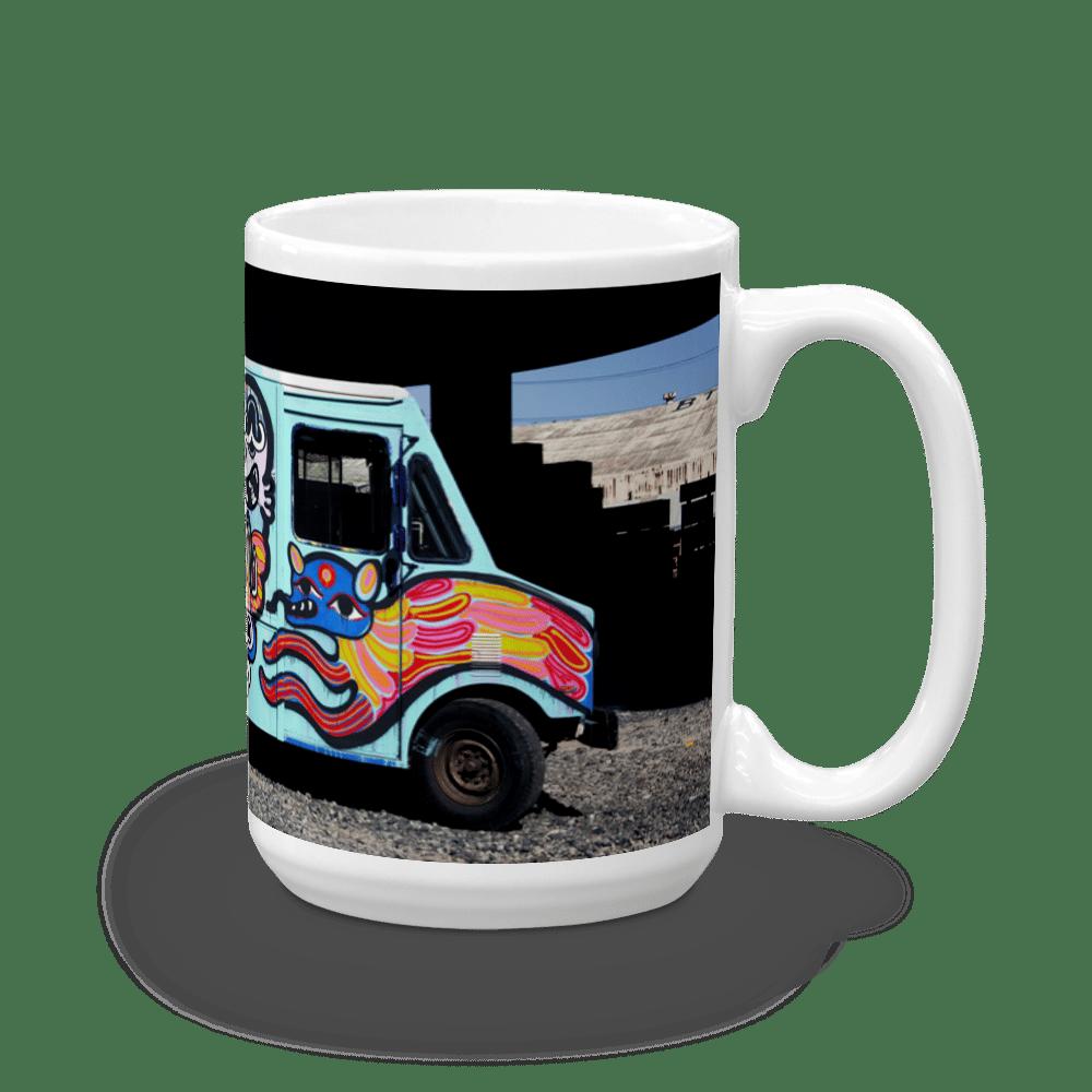 "Image of Bud Snow ""Box Truck"" Mug (15 oz.)"