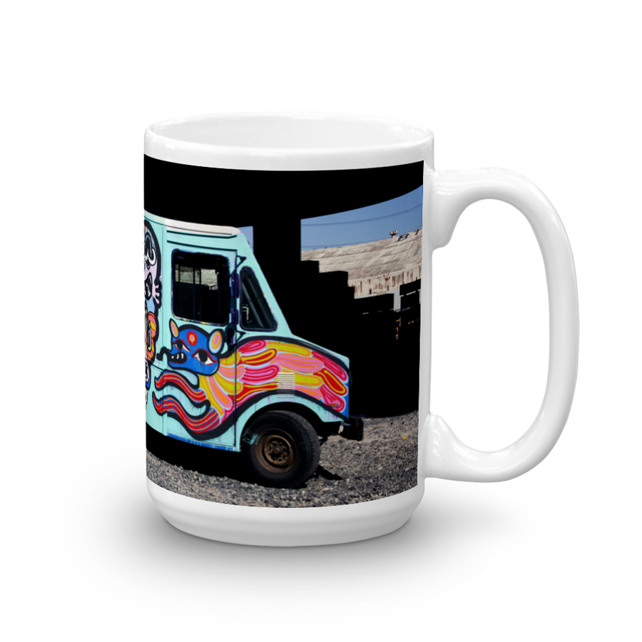 "Image of Bud Snow ""Box Truck"" Mug (15 oz.)"