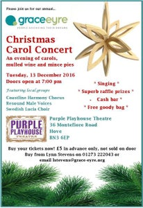 Image of An Evening of Carols, Mulled Wine and Mince Pies - Service User Ticket £3