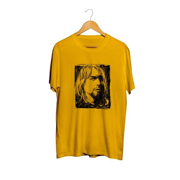 Image of Rock in a free wall - Kurt Cobain