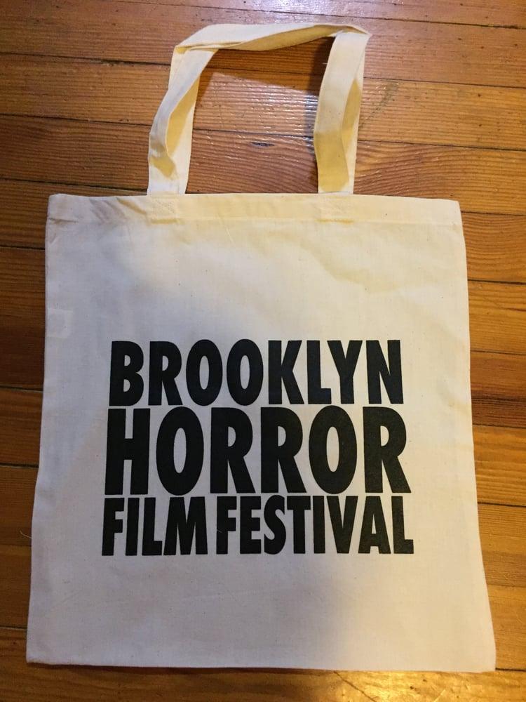 Image of Brooklyn Horror Canvas Bag