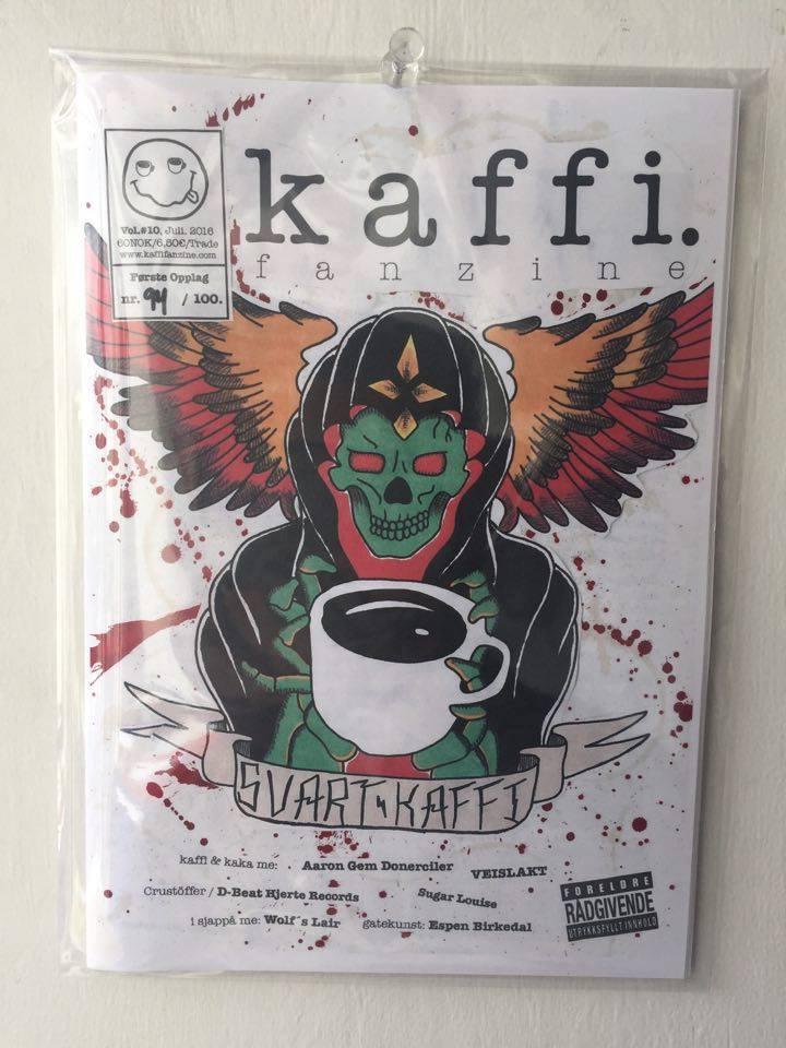 Image of kaffi fanzine Vol.#10 (2016) Standard