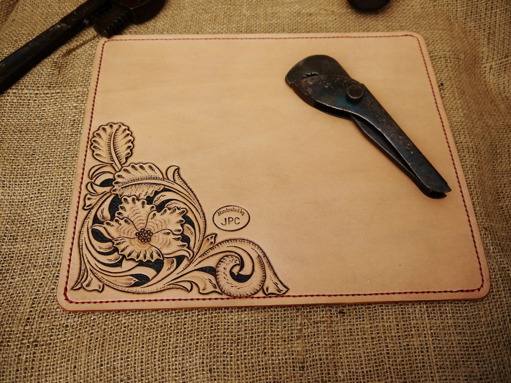 Image of Argyll - Hand Carved Desk Mat