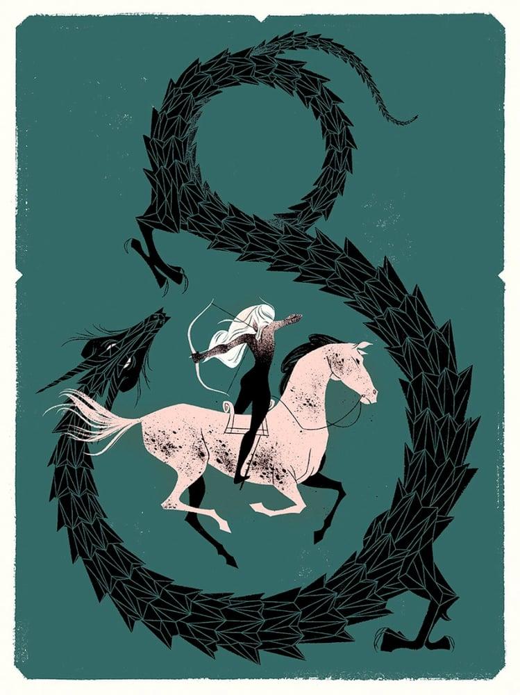 Image of Dragon Slayer Art Print