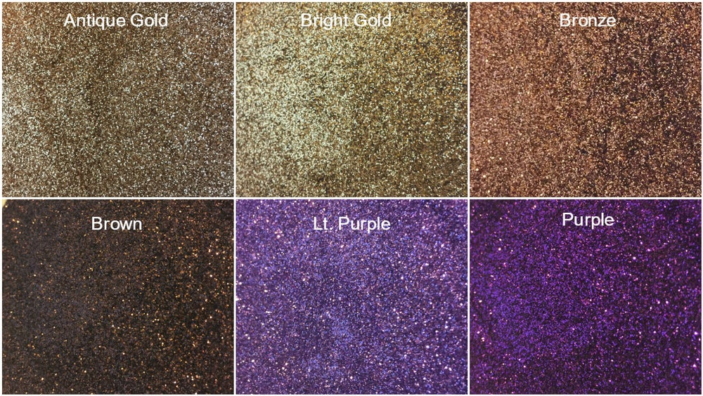 Image of Metallic Hex Glitter .008""