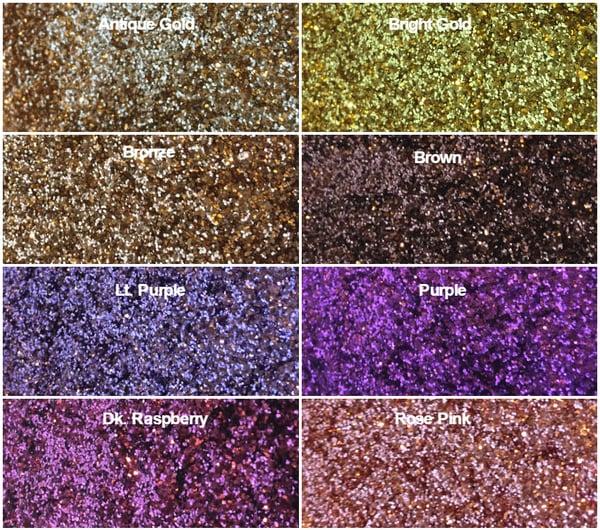"Image of Metallic Hex Glitter .015"""