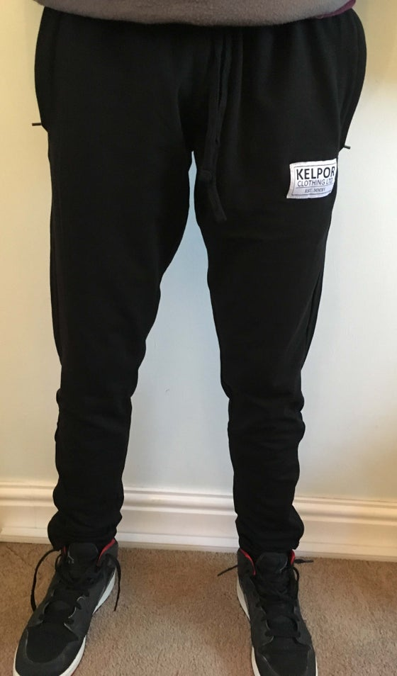 Image of Black Kelpor Original Joggers
