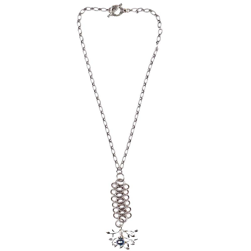 Image of PEARL TREE PENDANT NECKLACE
