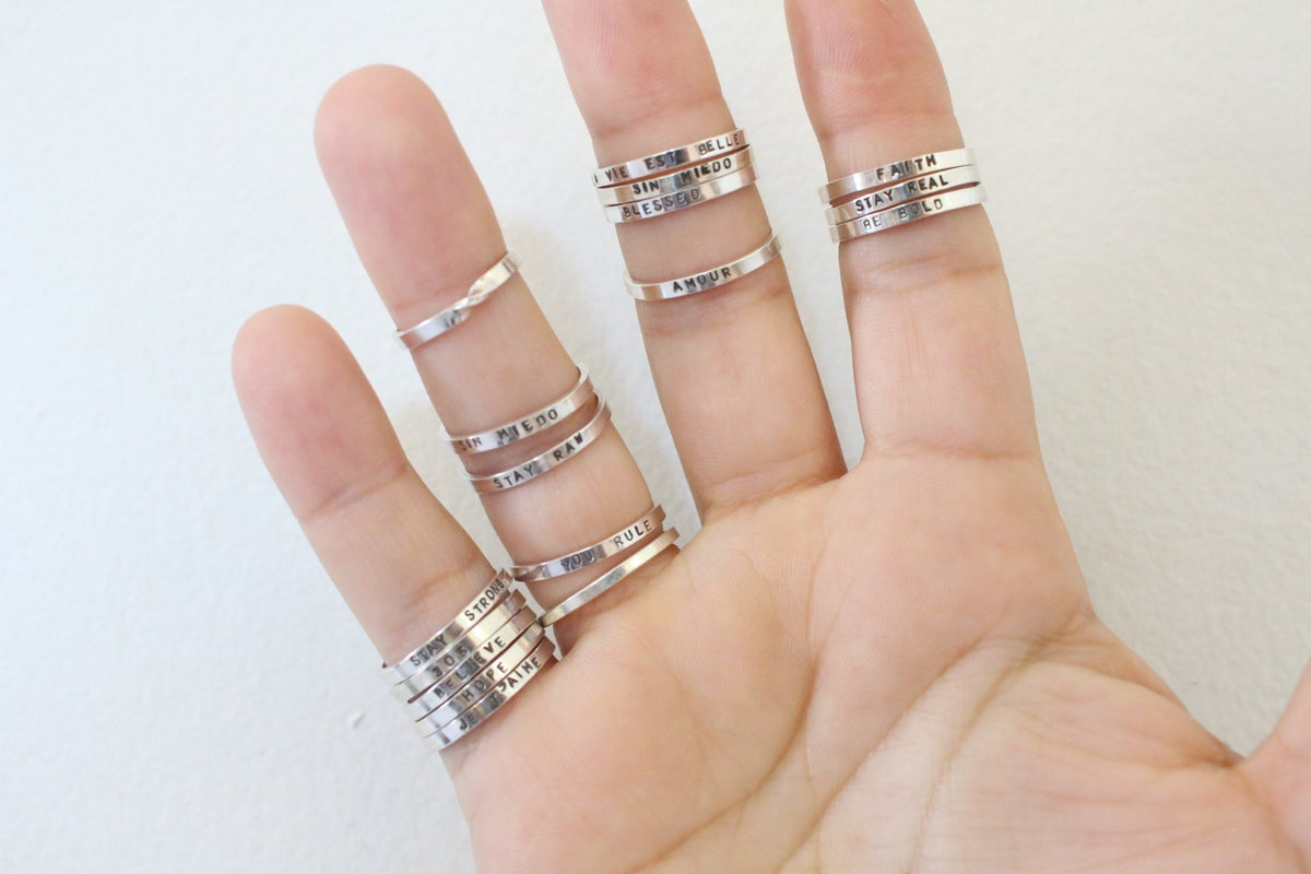 Image of custom close ring