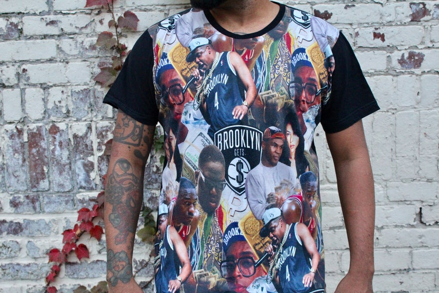 Image of Brooklyn Getz $ Full Print Men's T-shirt