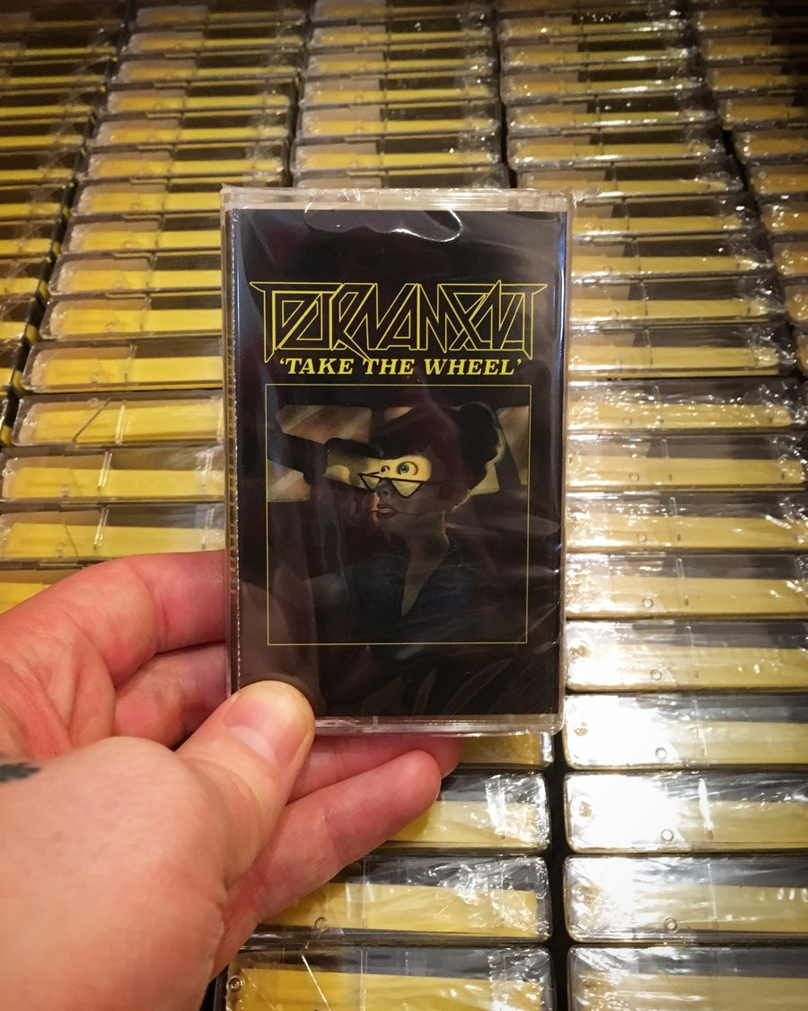 "Image of TOURNAMENT ""Take The Wheel"" Cassette"