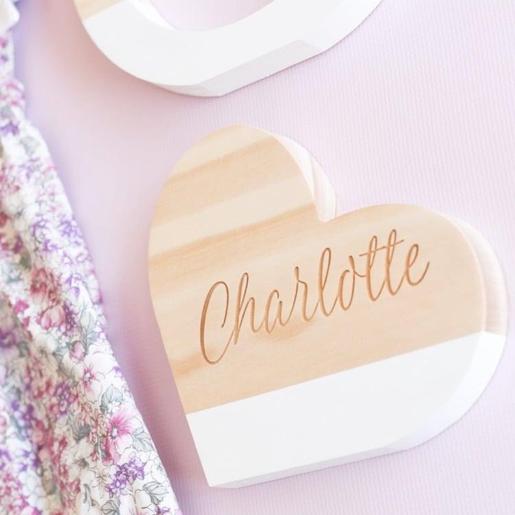 Image of Custom Name Sweet Heart