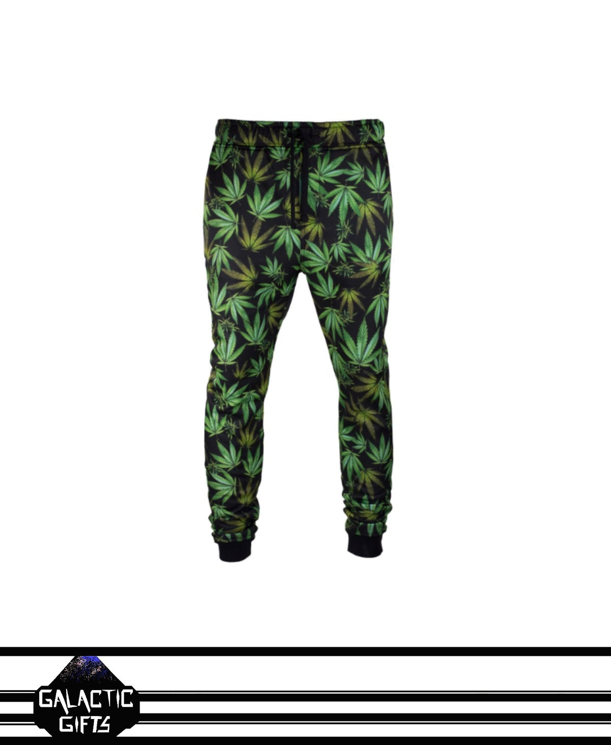 Image of Victorious leaf Print Jogger Pants