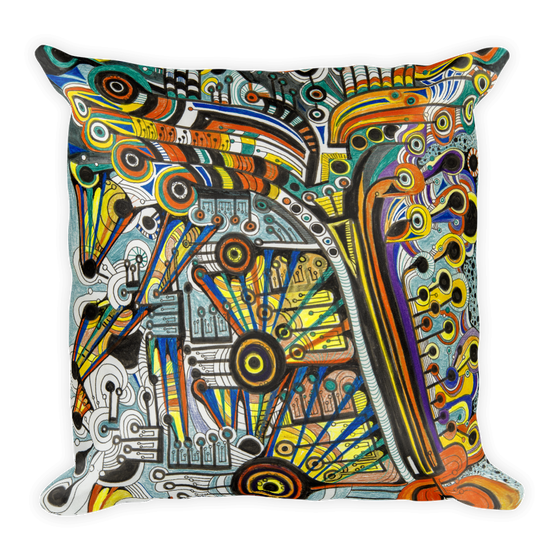 Image of NOLA Music Vibe Pillow