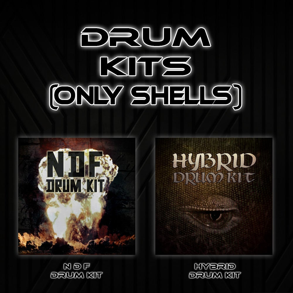 Image of Drum Kits (Only Shells)