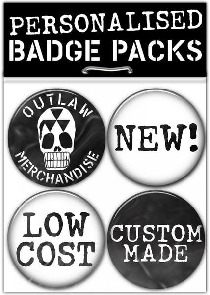 Outlaw Merchandise Custom Badges — Home