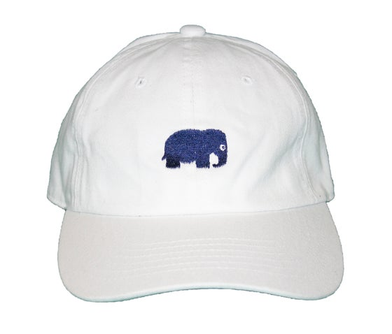 Image of Elephant Polo Hat (White)