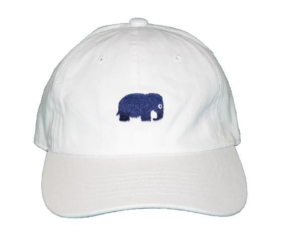 Image of Elephant Polo Hat (White)