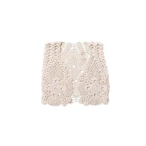 Image of Camila crochet vest cream