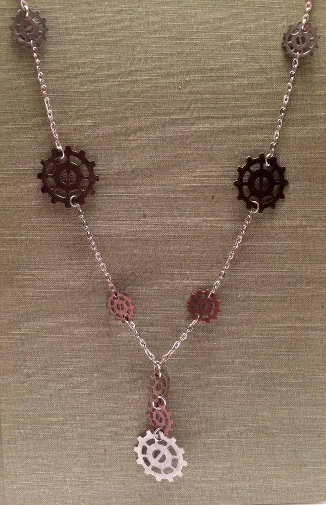Image of Yoga Gypsy Creations ~ Gear necklace