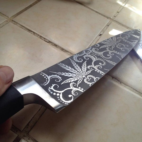 Image of Knife Etching