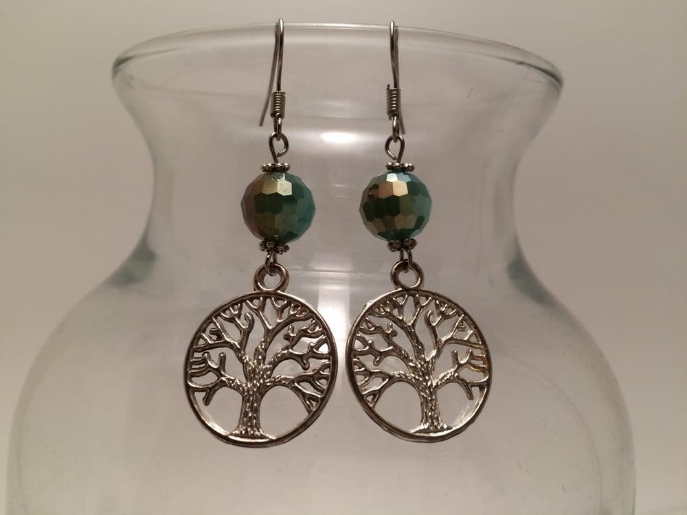 Image of Yoga Gypsy Creations ~ tree of life earrings