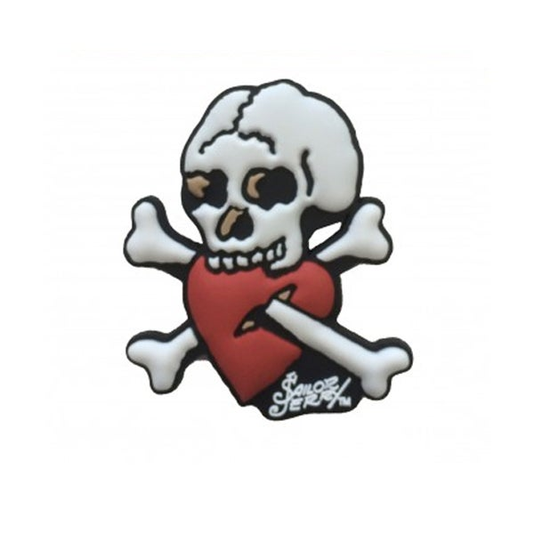 Image of Sailor Jerry 'Crossed Up Bones' Fridge Magnet